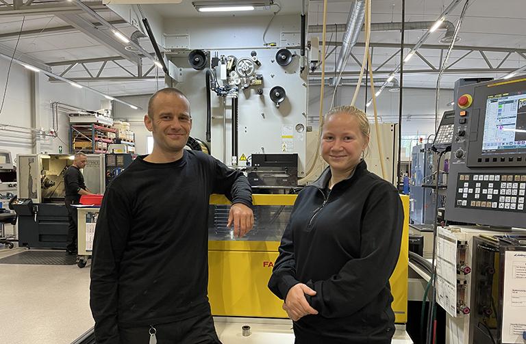 Thomas och Karolina nya i teamet